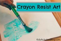 Art projects w/toddlers
