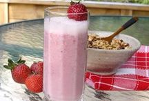 Smoothie Recipes / These refreshing drinks are sure to cool you down on a hot summer day.