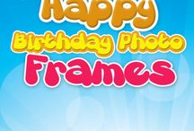 """Happy Birthday Photo Frames HD / Birthdays come and birthdays go, but """"Happy Birthday"""" app is here to stay. Happy Birthday Photo Frames HD! - Consist of Amazing Collection of beautiful and happy birthday photo frames to wish and share with Stickers and Funny Moments."""