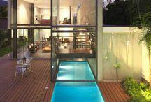 home // lap pool