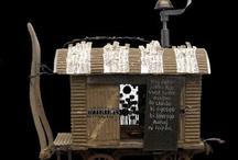 mini gypsy wagons