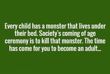 Writing prompts - monsters under the bed