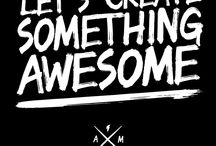 New Website & Branding / We have an awesome new, easy to use website up at www.awesomemerchandise.com and we'd love you to check it out. It's also full of rad new branding!  / by Awesome Merchandise