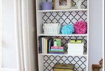 books shelves