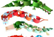 Paper chains pre K and kinder