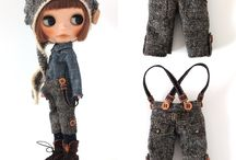 Doll clothings and patterns