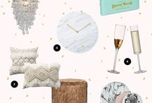 Mood boards by Fairly Modern / Simple mood board inspirations created by Fairly Modern Home.