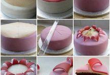 postupy dortů