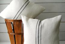 Decorative Pillows Burlap