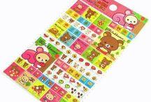 Kawaii Stickers / Cute Kawaii Stickers, Japanese stickers, Korean stickers, 3D sponge stickers