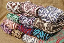 Afghan Slipper Socks