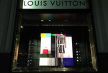 SS Show 2016 Louis Vuitton / Cookie-cutter window installation for international brand Louis Vuitton. Stage ONE Australia - Australia's leading art house for visual merchandising/retail window services, including design, fabrication, and installation. Speciality - custom-made, one-off  concepts. Expert installers of cookie-cutter designs. #visualmerchandising #stageoneaustralia #luxurybrands #retailwindows #louisvuitton
