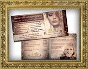 Flyerdesign /  Lesigna arbeitet sehr sorgfältig um atemberaubende Grafiken für Dein Friseursalon, Nagelstudio, Kosmetikstudio, Freseursalon, Atelie, Agentur, Boutique und für weitere feminin orientierte Unternehmen zuerstellen, um gedruckte Materialien mit einem Akzent von Glamour, Weiblichkeit, Schönheit, Eleganz und Flair zuverziehren.