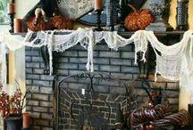 •●• Halloween Fireplaces •●•