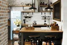 Kitchen / Warm industrial
