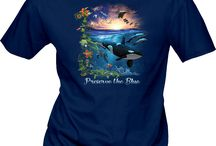 World Oceans Day / World Oceans Day T-shirts for your group!