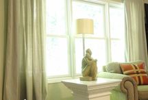 Drop Cloth Decor / Ways to decorate using inexpensive painters drop cloths. / by Janice M. Brown