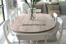 DIY Dining Room Table & Chairs
