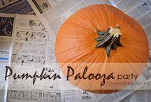 Halloween (decorations, parties, costumes)