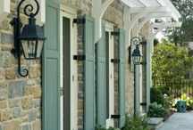 Garden & Home: Exterior Colours / by Laara Copley-Smith Garden Design