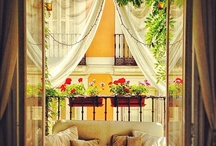 Balcony/backyard