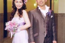 bride's photo 紫ドレスバージョン purple-dress / ys floral deco
