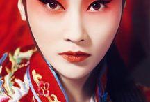 Geisha Makeup PVorlagen
