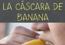 Beneficios cáscara de banana