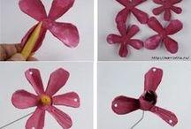 virág készités