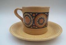 Mid Century Staffordshire Pottery