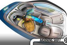 Future Car Interior