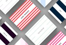 Stripes – Strut and Fibre Business Card Templates / A selection of Stripes business card templates available to customise and order on our site.