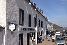 Our Shop / Come and visit our shop, on the main street in the tiny town of Inverary, Scotland,