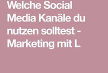 Social Media Konzept