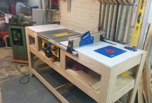 Woodwork shed