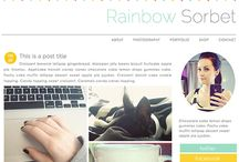 Website Beautiful / Color, font and design inspiration to beautify your author website.