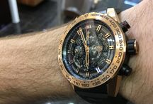 TAG Heuer Carrera Heuer-01 gold case