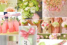 Green and Pink Weddings / by Sara Taylor