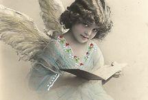 Vintage obr. - anjelik