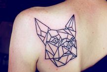 frenchie tattoo