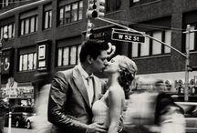 bruiloft in zw w en  beweging / Bruidsfoto's voor ronald en pien
