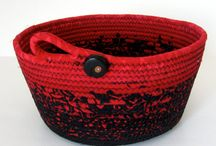 Fabric coiled rope