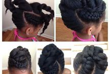 Natural Hairstyles for Kids / Natural hairstyles for kids, kids natural hair inspiration
