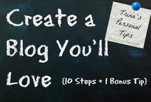 Blogging 101 / Everything new Bloggers need to know