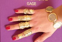 #myelizabethgage / Share how you wear your favourite Elizabeth Gage piece for a chance to win a signed copy of her book,The Unconventional Gage