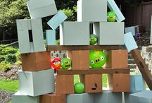 Kiddies party: Angry birds
