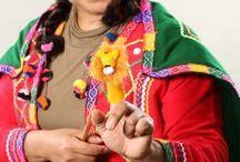 Handmade with Love! / The making of a handmade peruvian finger puppet.  www.fingerpuppetsinc.com