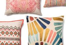Colorful cushions