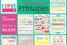 Summer Crafts, Food, & More / Pins to inspire you for summer time celebrations