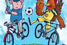 bike to the market / we support biking!